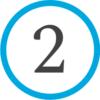 2 - синий