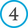 4 - синий